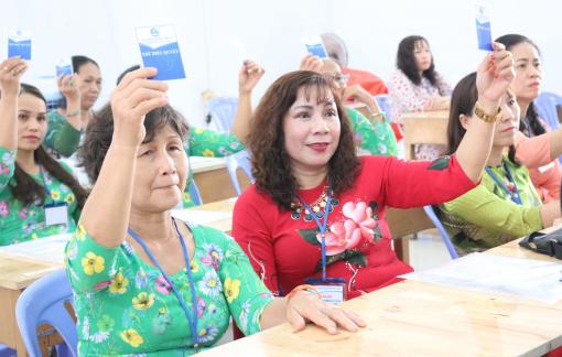 Chủ động đưa phong trào phụ nữ vào trường học, khu nhà trọ và các chung cư