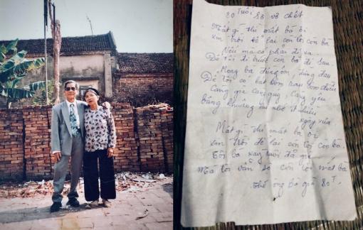 """Bài thơ """"80 tuổi sợ vợ chết"""" viết trên tờ lịch cũ khiến nhiều người rưng rưng"""