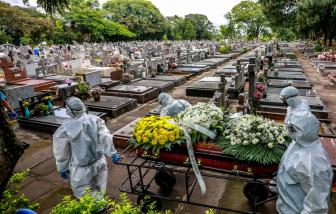 Hàng trăm trẻ em và trẻ sơ sinh Brazil thiệt mạng vì COVID-19