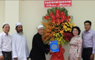 Lãnh đạo Mặt trận Tổ quốc Việt Nam TPHCM thăm Ban đại diện Cộng đồng Hồi giáo TPHCM