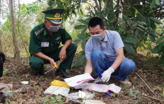 Quảng Trị: Bỏ chạy khi gặp biên phòng, để lại 12.000 viên ma túy tổng hợp