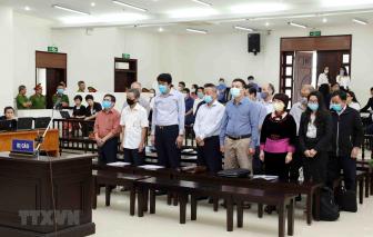 19 bị cáo vụ đại án gang thép Thái Nguyên nói lời sau cùng