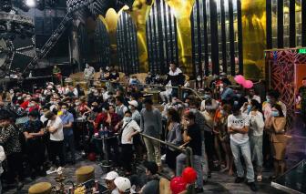 """Đột kích quán bar Enjoy ở quận 12 phát hiện hơn 100 """"dân chơi"""" dương tính chất ma tuý"""