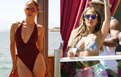 Jennifer Lopez xứng danh biểu tượng thời trang áo tắm