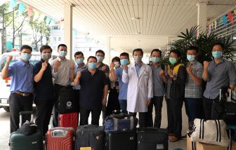 Bệnh viện Chợ Rẫy chi viện cho Kiên Giang chống dịch COVID-19