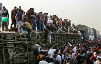 Hơn 100 người thương vong sau vụ tai nạn tàu hỏa ở Ai Cập