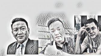 Bắt 3 đối tượng Nguyễn Thanh Nhã, Đoàn Kiên Giang, Nguyễn Phước Trung Bảo