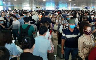 Bộ GTVT họp khẩn vì ùn tắc tại sân bay Tân Sơn Nhất