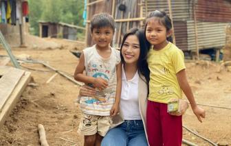 Hoa hậu Đỗ Thị Hà lập quỹ từ thiện hỗ trợ học sinh nghèo vượt khó trên khắp cả nước