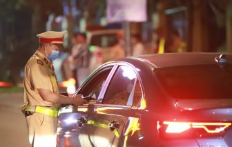 Xử phạt gần 30.000 tài xế say xỉn chỉ trong 1 tháng