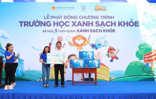 """""""Trường học xanh - sạch - khỏe"""" - 9 năm nỗ lực cải thiện môi trường học đường Việt Nam"""