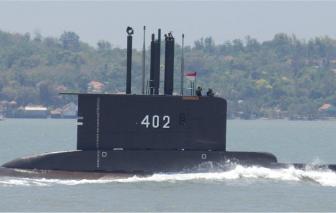 Indonesia: Tàu ngầm chở 53 thành viên thủy thủ đoàn mất tích ngoài khơi đảo Bali