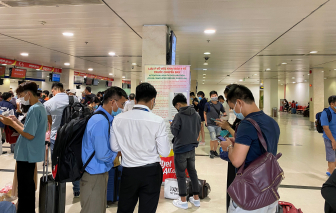An ninh sân bay không còn hỗ trợ các hãng bay kê khai y tế cho hành khách