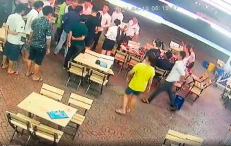 CSGT nổ súng khống chế nhóm thanh niên hỗn chiến