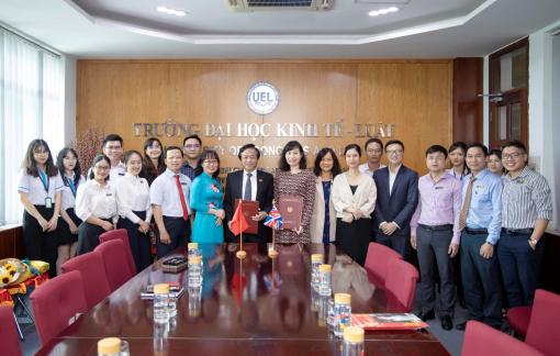 Đại học Kinh tế - Luật và ICAEW hợp tác đào tạo nhân lực tài chính - kế toán chuẩn quốc tế
