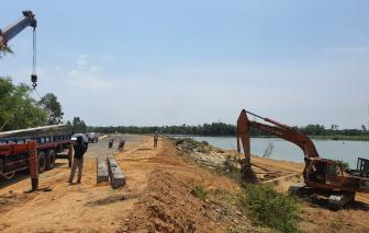 Đà Nẵng: Tuyến đường 500 tỷ 4 năm chưa xong giải phóng mặt bằng