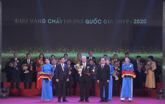 Công ty Acecook Việt Nam vinh dự đón nhận giải Vàng - giải thưởng Chất lượng Quốc gia 2020