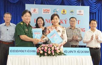 Hội LHPN TP.HCM ký kết phối hợp hoạt động với 5 đơn vị