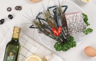 Nâng tầm bữa ăn chuẩn Âu với món hải sản nướng (hoặc áp chảo) sốt Hollandaise