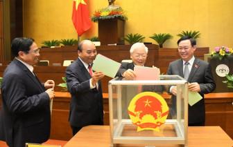 Tổng Bí thư Nguyễn Phú Trọng là người ứng cử ĐBQH cao tuổi nhất