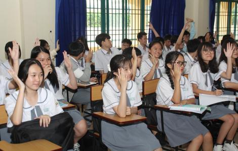 TPHCM công bố chỉ tiêu, học phí các trường có thể tiếp nhận học sinh học hết lớp 9