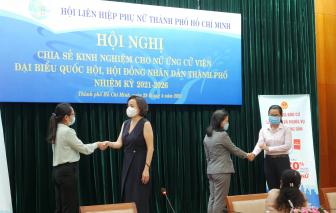 Chia sẻ kinh nghiệm cho nữ ứng cử viên đại biểu Quốc hội, đại biểu HĐND