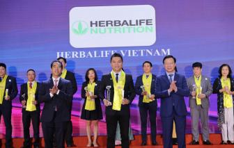 """Herbalife Nutrition được vinh danh là """"Thương hiệu thực phẩm bổ sung dinh dưỡng hàng đầu"""""""