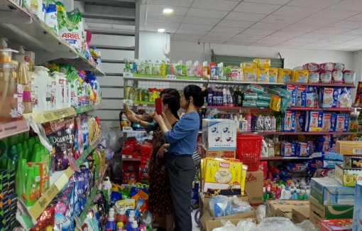 Cửa hàng liên kết từ Hội mang lại nhiều cơ hội giúp phụ nữ phát triển kinh tế
