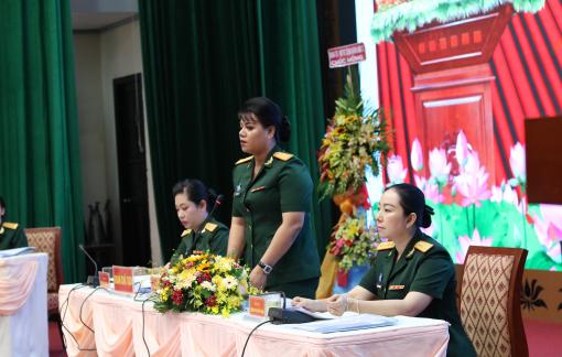 Đại úy Lê Thị Ngọc Bích tái đắc cử Chủ tịch Hội Phụ nữ Bộ Tư lệnh TPHCM