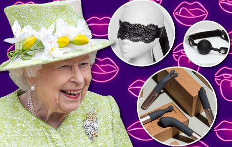 Nữ hoàng Anh vinh danh công ty chuyên kinh doanh đồ chơi tình dục