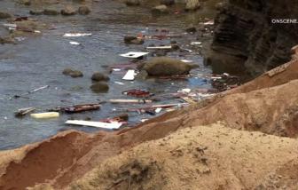 30 người thương vong sau vụ lật thuyền ngoài khơi ở Mỹ