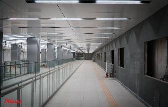 Hoàn thành cơ bản tầng B1 ga Ba Son thuộc tuyến Metro số 1