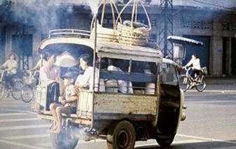 Những chuyến xe lam ngày cũ