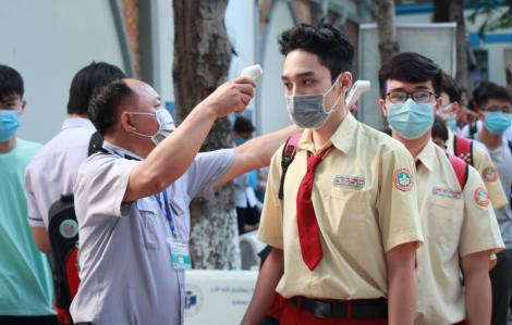 Học sinh TPHCM có thể tạm dừng đến trường từ ngày 10/5