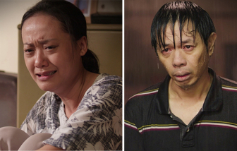 """""""Cây táo nở hoa"""": Thái Hoà, Hồng Ánh khóc cạn nước mắt"""