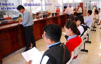 Chi nhánh Văn phòng đăng ký đất đai được cấp sổ hồng đối với 11 loại thủ tục
