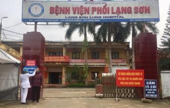 Lạng Sơn đã có ca dương tính, phong tỏa toàn bộ Bệnh viện Phổi