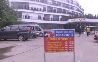 Phong tỏa toàn diện tạm thời đối với Khách sạn Pao's Sa Pa