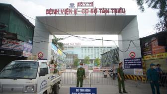 Phong tỏa Bệnh viện K vì có 10 ca dương tính