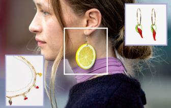 Phụ kiện thời trang lấy cảm hứng từ trái cây ''lên ngôi''