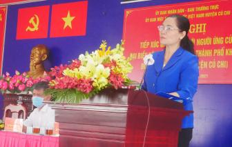 """Ứng viên HĐND TPHCM mong muốn mang đến sự thịnh vượng cho người dân """"đất thép thành đồng"""""""