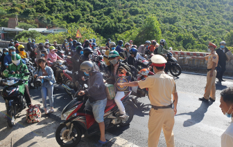 Đà Nẵng dừng hoạt động vận tải đến Thừa Thiên-Huế