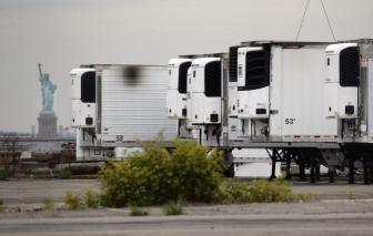 Hàng trăm thi hài của bệnh nhân COVID-19 ở Mỹ vẫn còn nằm trong xe tải đông lạnh