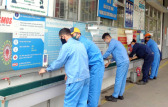 Yêu cầu khẩn cấp tăng cường phòng chống dịch COVID-19 ở khu công nghiệp