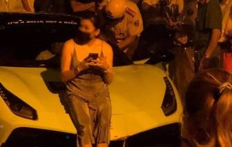 """Phòng CSGT lên tiếng vụ tài xế siêu xe Ferrari """"làm trò"""" khi bị kiểm tra"""