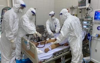 4 ca COVID-19 nặng, có trường hợp phù phổi, suy tim... phải thở ECMO