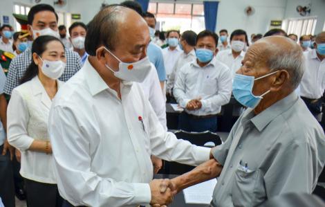 Chủ tịch nước: Hóc Môn phải là quận đô thị sinh thái