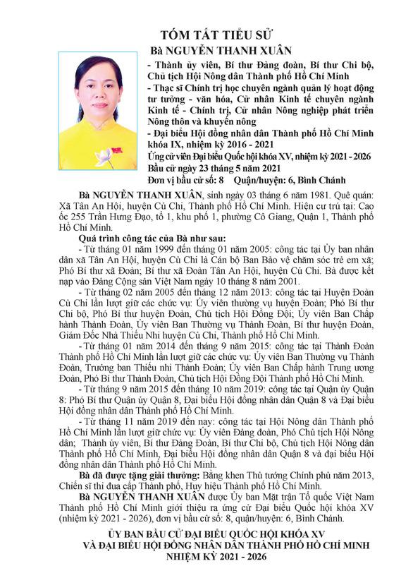 Danh sách 50 ứng cử viên ĐBQH khóa XV tại TP.HCM - Ảnh 77.