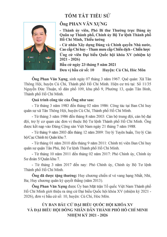 Danh sách 50 ứng cử viên ĐBQH khóa XV tại TP.HCM - Ảnh 97.
