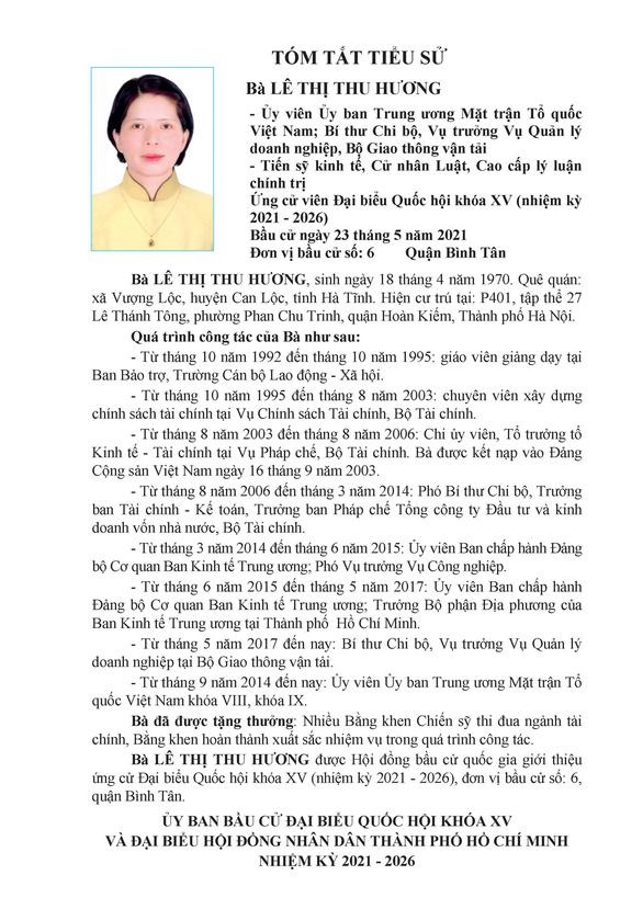 Danh sách 50 ứng cử viên ĐBQH khóa XV tại TP.HCM - Ảnh 59.